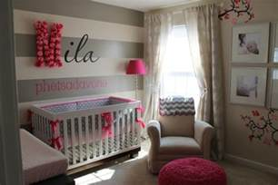 Chambre De Fille Decoration by D 233 Co Chambre Fille Bebe