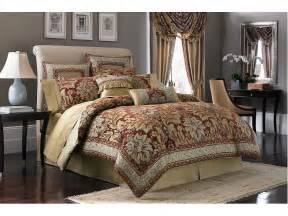 croscill fresco comforter set king red shipped free at zappos