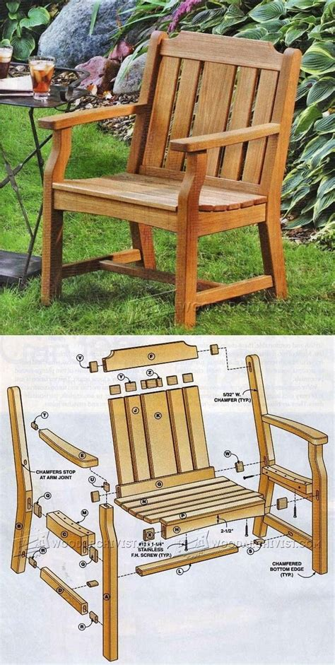 unique outdoor furniture plans ideas  pinterest