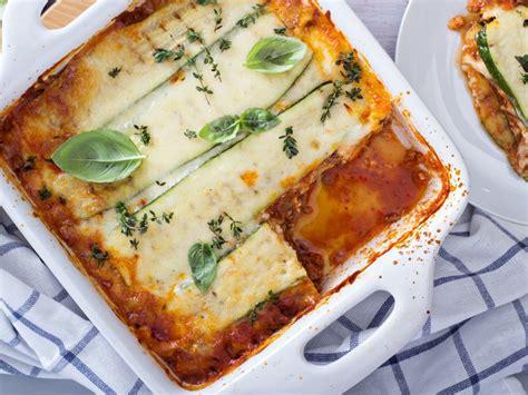 cuisine lasagne facile lasagnes de courgettes faciles recette de lasagnes de