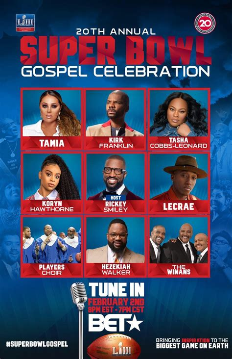 annual superbowl gospel celebration heads  bet