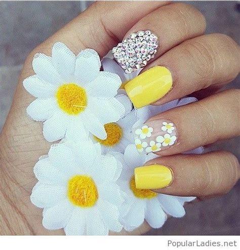 yellow nail designs nail art designs