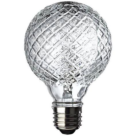 westinghouse  watt faceted halogen  globe vanity bulb