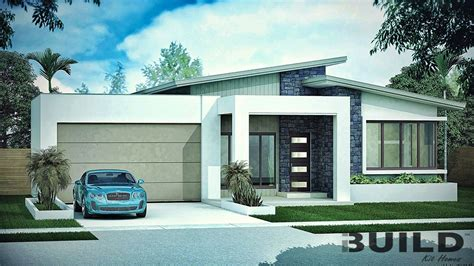 3 bedroom contemporary house plans 3 bedroom house plans ibuild kit homes 17980 | Kit Homes GLADSTONE with watermark