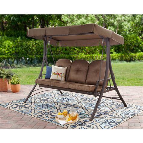 3 Person Porch Swing by 3 Person Hammock Swing Deck Patio Garden Furniture Outdoor