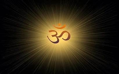 Om Symbol Wallpapers Desktop Hindu Mobile 3d
