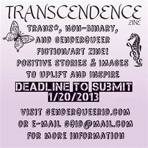 GENDERQUEER AND NON-BINARY IDENTITIES - CALL FOR ...