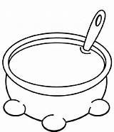 Soup Pot Coloring Clipart Pages Stone Bowl Drawing Stew Colouring Preschool Cliparts Crafts Bible Church Story Soups Clip Clipartmag Cooking sketch template