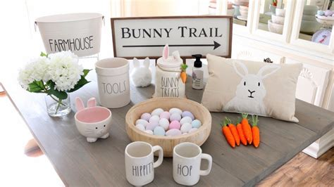 spring decor easter decor haul decorating ideas