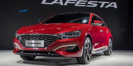 hyundai lafesta  el nuevo sedan chino de la marca coreana