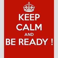 Be Ready???  Crofton Parish