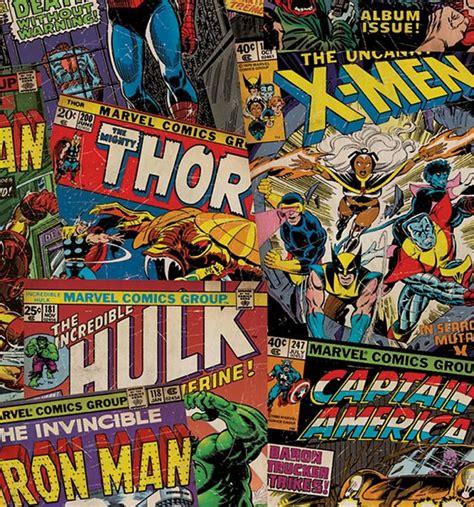 Marvel Comics Unique Wall Wallpaper Panel 50cm X 25m From