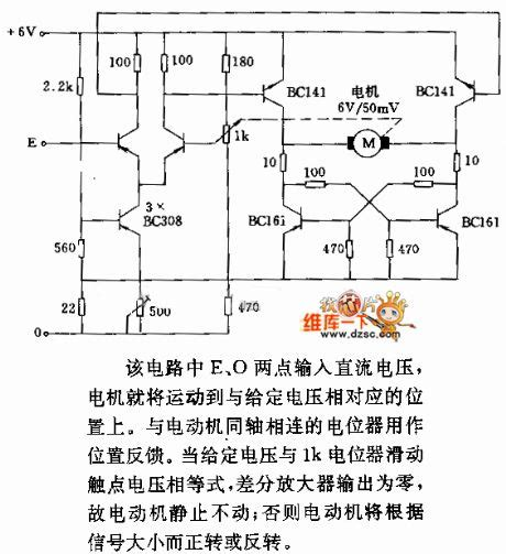 Motor Servo Control Circuit Diagram World