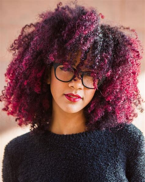 Best 25 Dyed Natural Hair Ideas On Pinterest Colored
