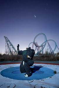 Batman - Photo of the Abandoned Six Flags New Orleans