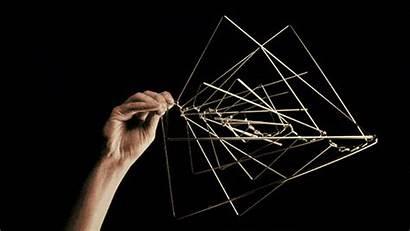 Sculpture Kinetic Ivan Wave Square Artist Spinner