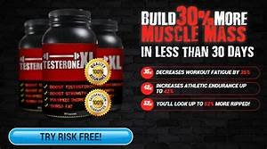 Testeronexl Builds Athletic Muscle Mass Instantly