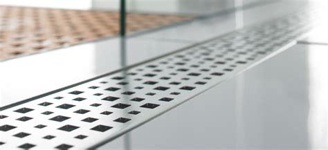 aco quartz pixel grate  shower channel  bath