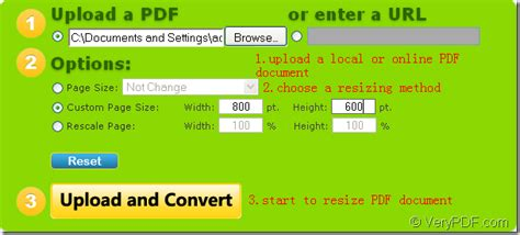 How To Resize Pdf Page Online For Free? Verypdf