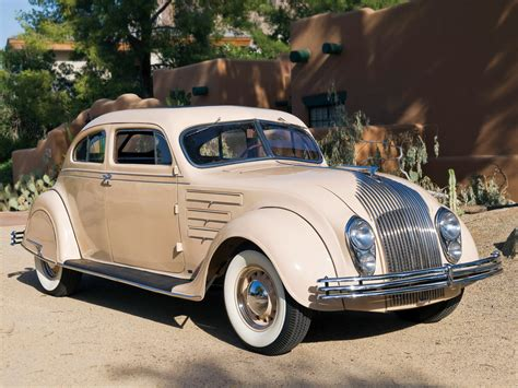 1934 Chrysler Coupe by 1934 Chrysler Imperial Airflow C V Coupe Retro D Wallpaper