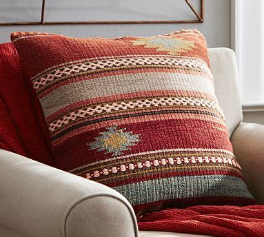 Maybe you would like to learn more about one of these? Penn Stripe Kilim Decorative Pillow Cover | Pottery Barn