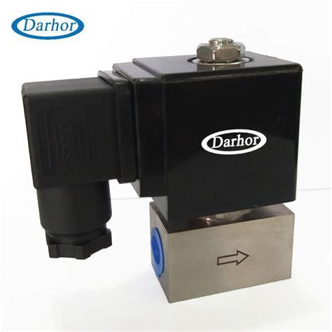 dhse   high pressure ss solenoid valve