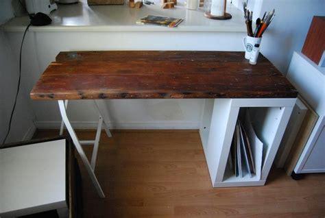 bureau en bois ikea ikea hack quelques astuces originales diy pour votre