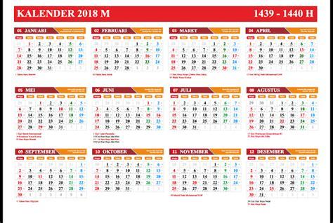 Kalender 2018 Jawa Pdf, Excel, Word