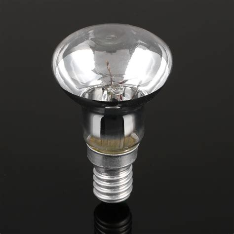lava l light bulb type r39 reflector spot light lava glitter dimmable lighting