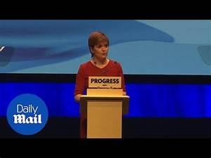 Nicola Sturgeon on Scottish independence at SNP conference ...