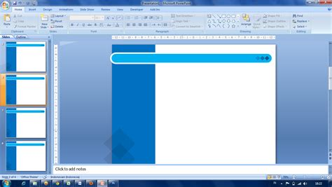 membuat background powerpoint ishaq madeamin blog