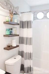 over toilet shelf Over The Toilet Storage And Design Options For Small Bathrooms
