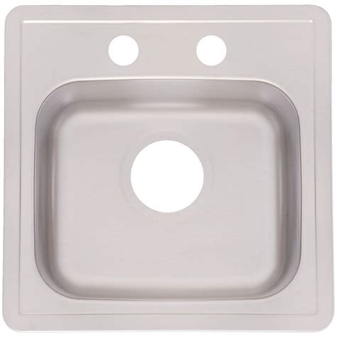 franke sink home depot franke drop in stainless steel 15x15x6 2 single bowl