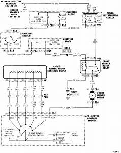 Where Is The Blower Motor Relay On A 1996 Dodge Caravan
