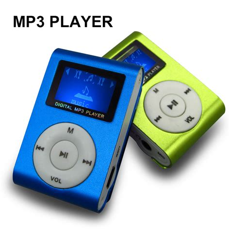 Zu Mp3 by Sport Mp3 Player With Lcd Screen Metal Clip