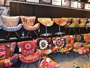 Déco Bohème Ethnique : fauteuils color s on adore ambiance gipsy boh me hippie chic hippie style et chic ~ Melissatoandfro.com Idées de Décoration
