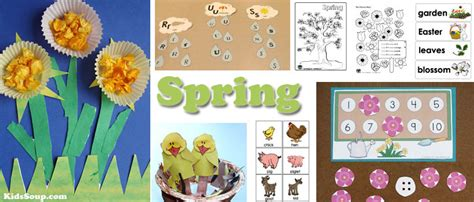 activities crafts and lessons kidssoup 433 | Spring activities crafts