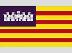 El castillo de la bandera de las Islas Baleares