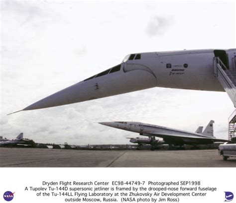 Tu-144ll Sst Flying Laboratory Side