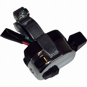 Aw Motorcycle Parts  Switch Universal 3 Way   Horn Indicator