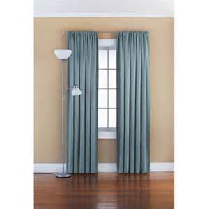 mainstays solid room darkening curtain panel walmart com