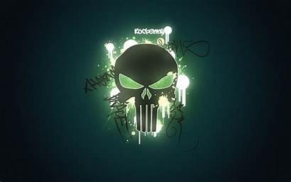 Skull 3d Cool Skulls Neon Wallpapers Iphone