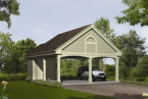 2 Car Garage With Carport Plans » Woodworktips