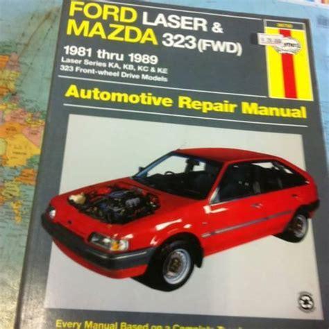 motor auto repair manual 1989 ford laser electronic throttle control ford laser mazda 323 fwd 1981 1989 haynes service repair manual sagin workshop car manuals