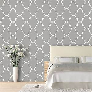 Gray Lattice Wallpaper