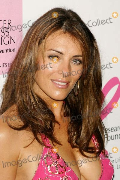 Give Cancer Pink Slip elizabeth hurley pictures and photos