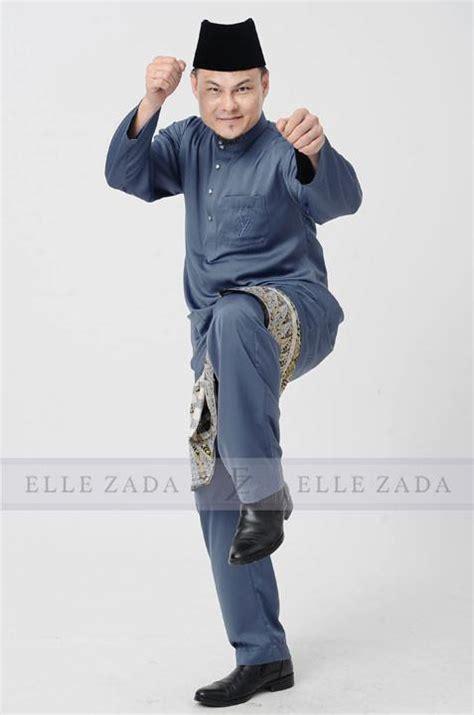 baju melayu chion 2017 pewter zada