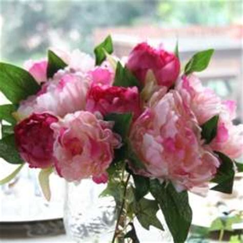 pivoines artificielles mauves boutique en ligne fleurs artificielles cosy d 233 co