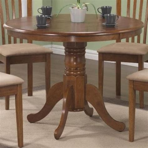 Cottage Oak Dining Room Table Solid Antique Style Kitchen