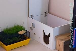 Maison Pour Lapin : diy une maison pour lapinou avec un placard r cup ~ Premium-room.com Idées de Décoration